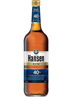 Hansen Blau Rum from Germany 40% 1.0l