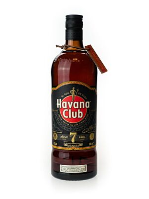 Havana Club Anejo 7 Years Rum 40% 1.0l