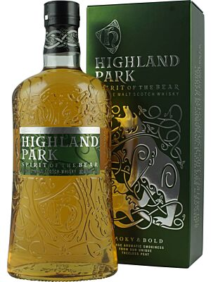 Highland Park Spirit of the Bear Island Single Malt Scotch Whisky 40% 1l