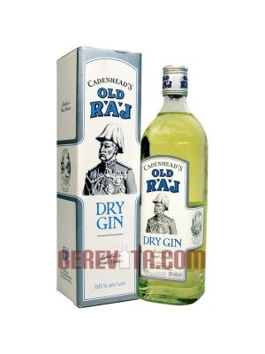 Cadenhead's old Raj Dry Gin 55% 0.7 l