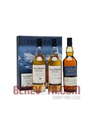 Talisker Gift Pack Single Malt Whisky 3 x 0,2 l