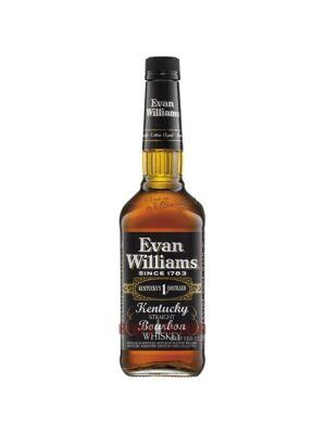 Evan Williams 7 Years Old Kentucky Straight Bourbon Whiskey 43.0% 1,0 l