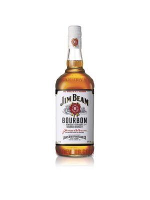 Jim Beam White Label Bourbon Whiskey 1 l