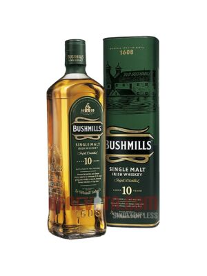 Bushmills 10 Years Irish Single Malt Whiskey 1 l