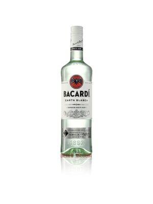 Bacardi Carta Blanca, Superior White Rum 1 l