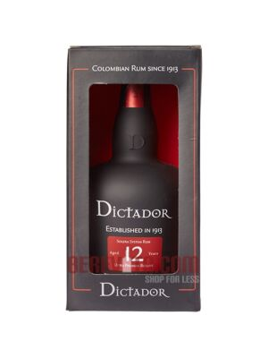 Dictador Solera Rum 12 years old 0,7 l