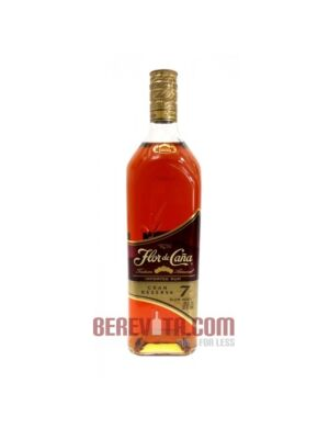 Ron Flor de Cana Grand Reserve 7 Years Old 1 Litre 40%