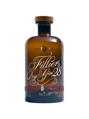 Filliers 28 Dry Gin from Belgium 46,0 % 0,5 l