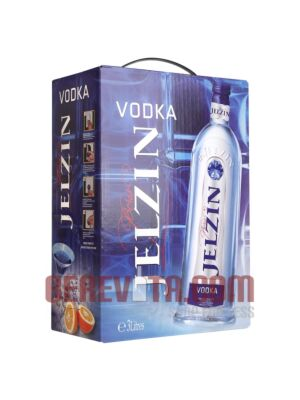 Boris Jelzin Vodka Bag in Box 3 Litre 37.5%