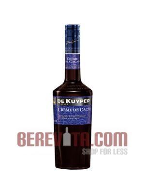 De Kuyper Creme de Cacao Brown Liqueur 0.7 l