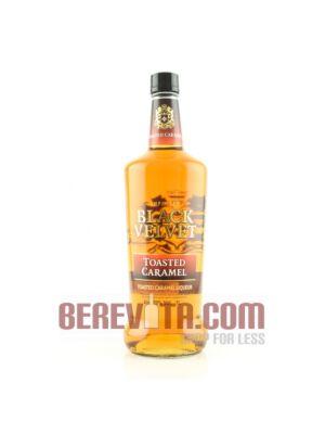 Black Velvet Toasted Caramel Canadian Whisky 1 litre 35%
