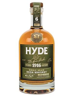 Hyde No. 3 The Aras Cask Single Grain Irish Whiskey 46% 0,7l