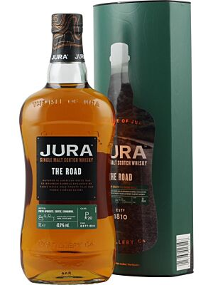 Isle of Jura The Road Single Malt Scotch Whisky 43,6% 1,0l