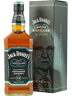 Jack Daniel's Master Distiller Series No. 4 Tennessee Whiskey 43% 1,0l