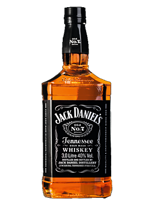 Jack Daniel's Old No. 7 Black Label Tennessee Whiskey 40% 3,0l