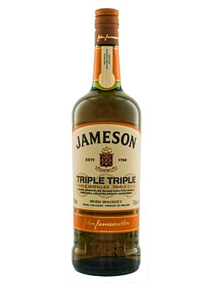 Jameson Triple Triple Irish Whiskey 40% 1,0l