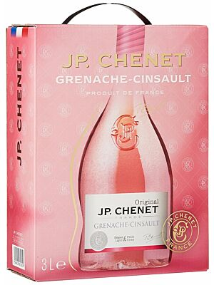 JP Chenet Cinsault-Grenache Rosé 3 l BiB