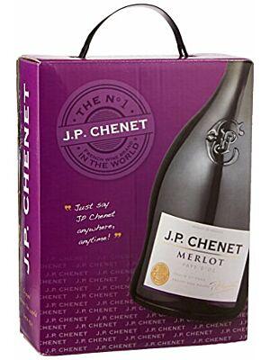 JP Chenet Merlot 3 l BiB