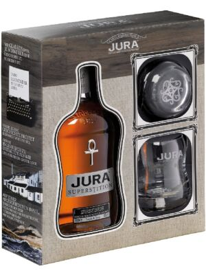 Isle of Jura Superstition with 2 glasses 43% 0,7l