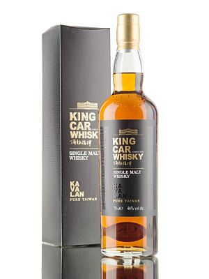 Kavalan King Car Conductor Single Malt Whisky 0,7 Liter 46%