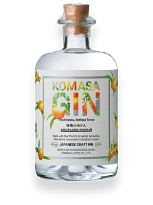 Komasa Gin Sakurajima Komikan Japanese Gin 40% 0,5l