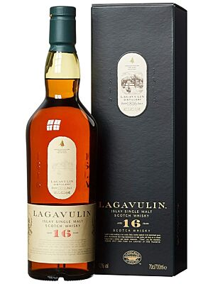 Lagavulin 16 Year Islay Single Malt Scotch Whisky 43% 0,7l