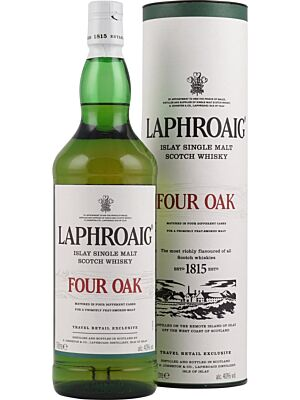 Laphroaig Four Oak Islay Single Malt Whisky 40% 1,0l