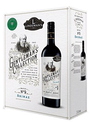 Lindemans Gentlemans Collection Shiraz 14% 3,0l