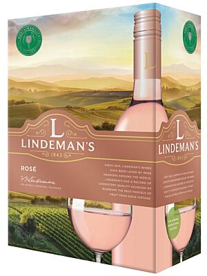 Lindemans Rosé Bag in Box 11% 3,0l