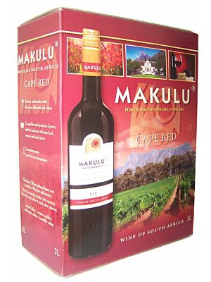 Makulu Cape Red Rotwein Bag in Box 13,5% 3,0l