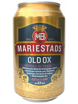 Mariestads Old Ox Beer 6,9% 24 x 0,33 liter