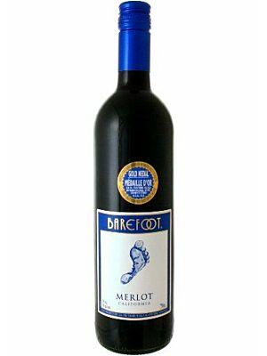 Barefoot Merlot Rotwein aus Kalifornien