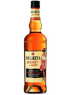 Negrita Spiced Golden Flavoured Spirit 35% 1,0l