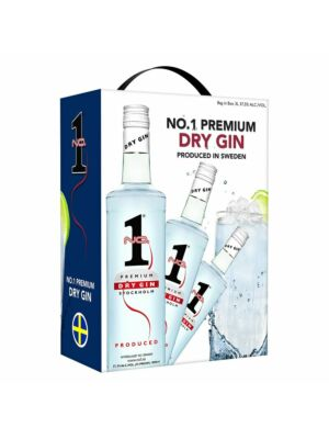No.1 Premium Dry Gin Bag in Box 37,5% 3,0l