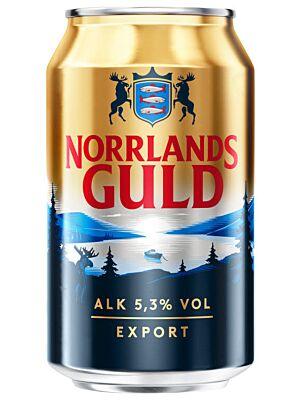 Norrlands Guld Export 5.3% 24 x 0,33 liter