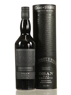Oban Bay Reserve - Game of Thrones Edition 43% 0,7l