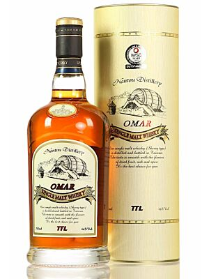Omar Sherry Type Single Malt Taiwan Whisky 46% 0,7l