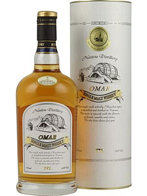 Omar Bourbon Type Single Malt Taiwan Whisky 46% 0,7l