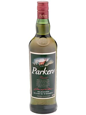Parkers Finest Blended Scotch Whisky 40% 1.0l