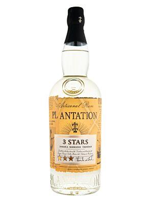 Plantation 3 Stars White Rum 41,2% 1,0l