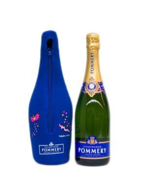 Pommery Brut Royal Champagne mit Ice Jacket Überzug