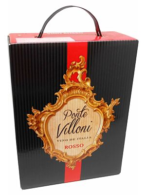 Ponte Villoni Vino Rotwein BiB 11% 3,0l