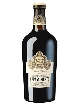 Quattro Passi Appassimento Rosso Veneto 14% 0,75l