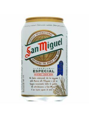 San Miguel Especial Beer 5,8% (24 x 0,33 liter)