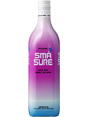Små Sure Bubble Gum 16.4% 1.0l