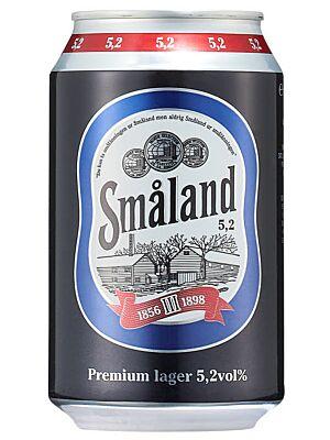 Småland Premium Lager 5.2% 24 x 0,33 liter