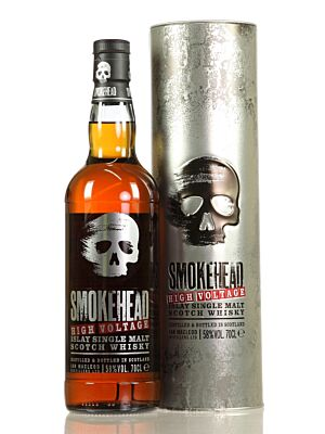 Smokehead High Voltage Islay Single Malt Scotch Whisky 58% 0,7l