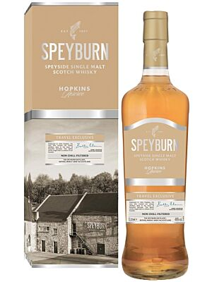 Speyburn Hopkins Reserve Speyside Single Malt Scotch Whisky 46% 1.0l