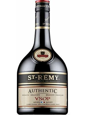 St. Remy Authentic French Brandy VSOP 40% 1.0l