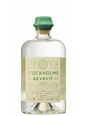 Stockholms Bränneri Akvavit 38% 0,5l